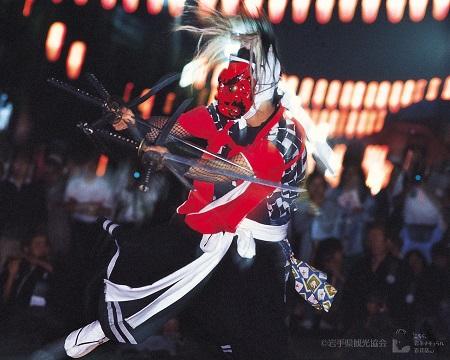 北上 みちのく芸能まつり 鬼剣舞