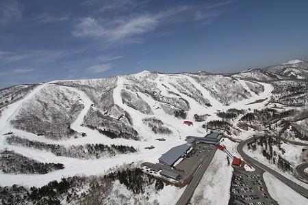 北上市 夏油高原スキー場オープ...