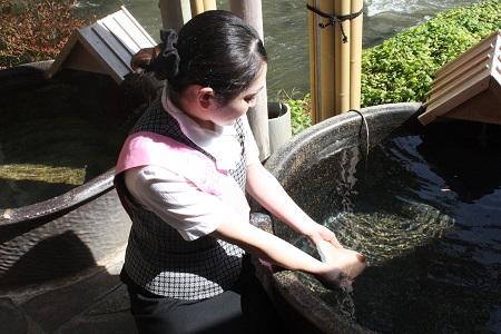 ピンクリボン 温泉